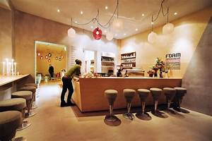 Modern cafe interior design decobizzcom for Modern cafe interior design ideas