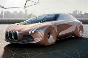 BMW Vision Next 100 futuristic concept car unveiled