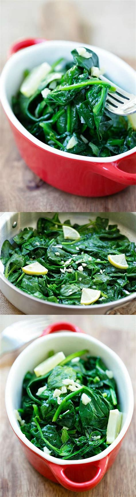 recipes healthy spinach easy sauteed garlic butter chicken salad heal topped bacon ranch dish main summer dishes fitnessviral