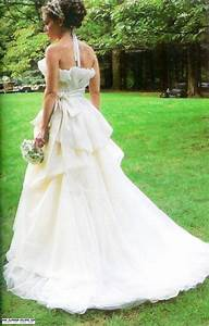 alyssa milano wedding dress glitz bells With milano wedding dresses