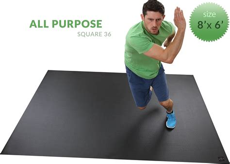 Living Room Floor Exercises by Want Brand New Large Exercise Mat 8 X 6