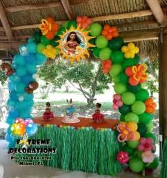 Moana Luau Birthday Party Ideas