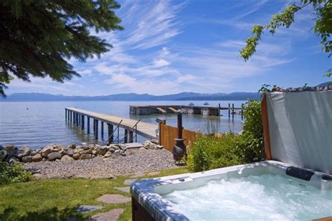 houses with tubs to rent magnificent lakefront home tub buoy vrbo