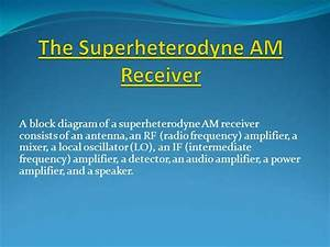 The Superheterodyne Am Receiver