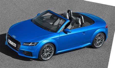 Audi Tts Roadster Revealed Before Paris Show