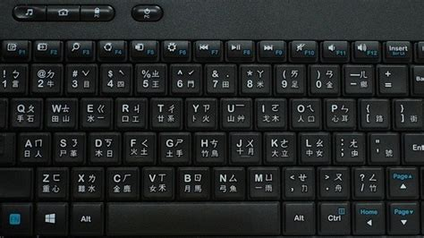 How Does The Chinese Keyboard Of The Typewriter Look Like