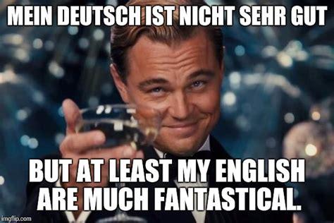 Meme Deutsch - leonardo dicaprio cheers meme imgflip