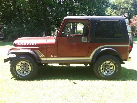 jeep laredo 1985 jeep cj7 laredo sport utility 2 door 4 2l classic