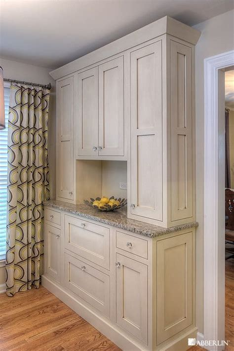 white stained kitchen cabinets dizayn kladovoy