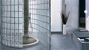 Douche Mur Verre : des briques de verre pour sublimer la douche douche ~ Zukunftsfamilie.com Idées de Décoration