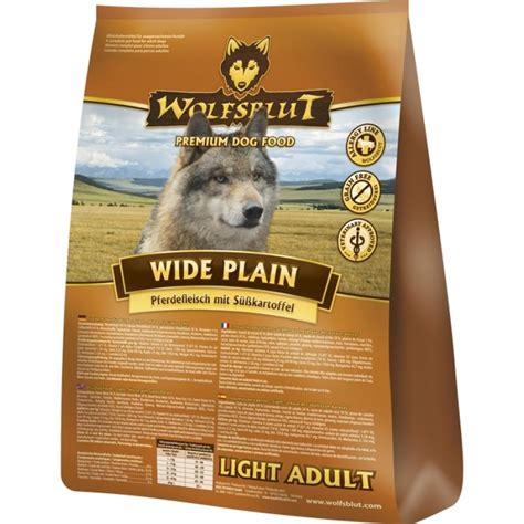 wolfsblut wide plain light pferd kartoffel kg