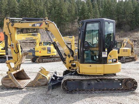caterpillar  cr mini hydraulic excavator  sale  hours chase bc