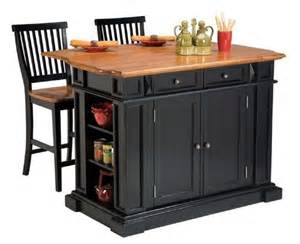 stationary kitchen islands home styles large kitchen island set with 2 stationary stools antique black oak kitchen