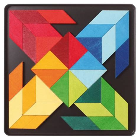 Magna Tiles India by Grimm S Spiel Und Holz Indian Squares Magnetic Tiles