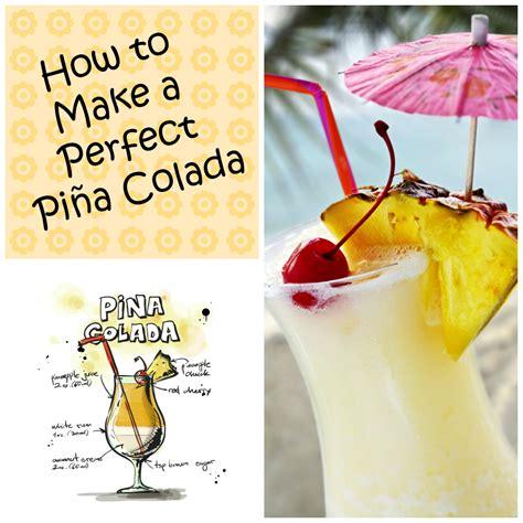 how to make a pina colada mix up the perfect frozen pi 241 a colada recipe mash