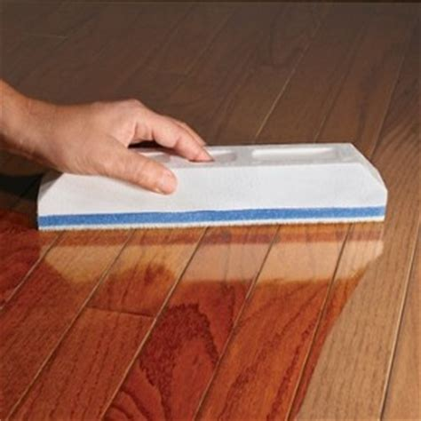 wood floor wax applicator