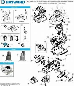 34 Hayward Pool Vac Ultra Parts Diagram