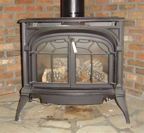 Vermont Castings Direct Vent Gas Heater In Jims Garage