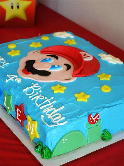 super mario brothers party happy birthday kallen life   lofthouse