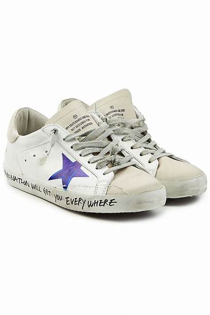 Goose Golden Sneakers Star Super Outlet Multicolored