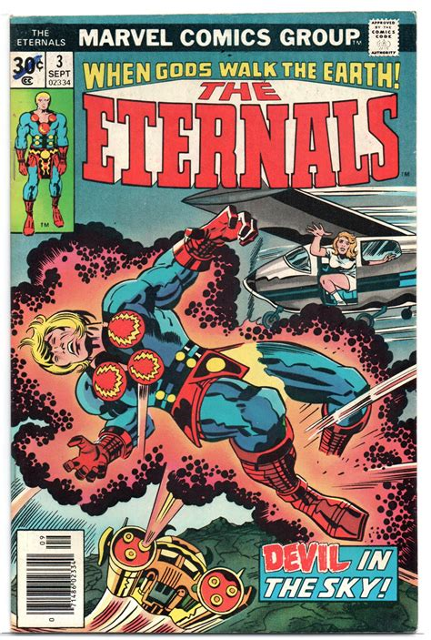 The Eternals 3 | Fantastic four comics, Marvel comic books ...