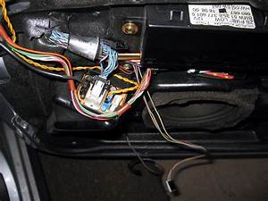 Wires Plugged Into Front Door Speaker Box