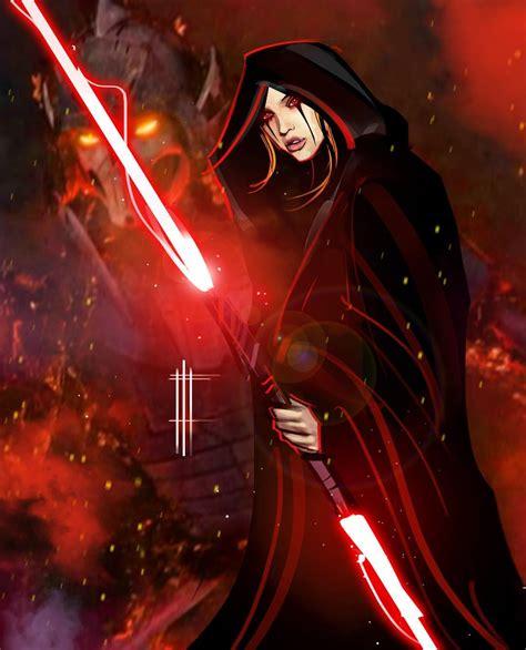 Star Wars Empire Strikes Back Wallpaper Darth Zannah By Eli Hyder Starwars