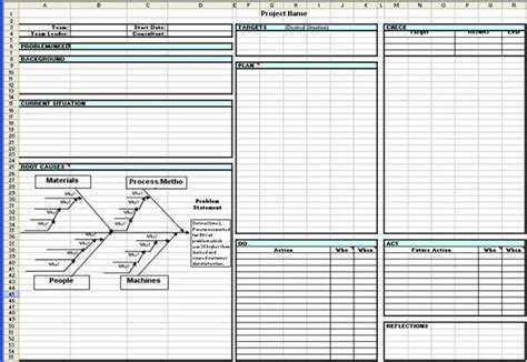 a3 problem solving template toyota a3 report a3 report template in excel