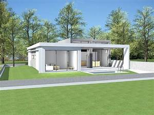 Prix Toiture 80m2 : plan maison toit terrasse plain pied le monde de l a ~ Melissatoandfro.com Idées de Décoration
