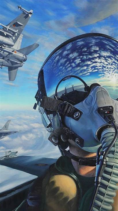 4k Fighter Pilot Aircraft Artwork Jet Wallpapers
