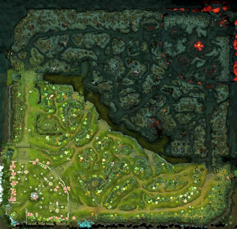 The complete Dota2 map (25 megapixel resolution version in ...