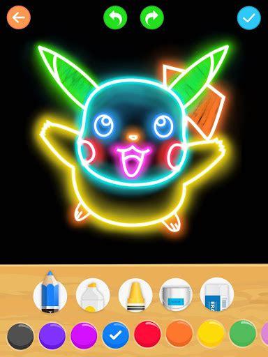 draw glow cartoon   draw app apk