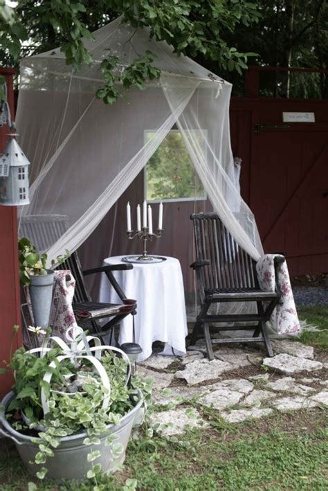 cute  practical mosquito net ideas  outdoors digsdigs