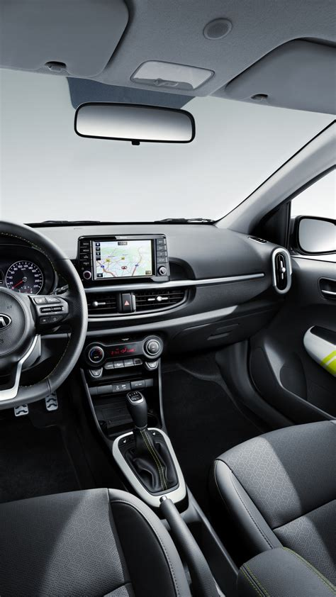 Kia Picanto 4k Wallpapers by Wallpaper Kia Picanto X Line 2018 Cars Interior 8k