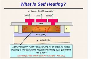 Self Heating Effect In Soi Transistor