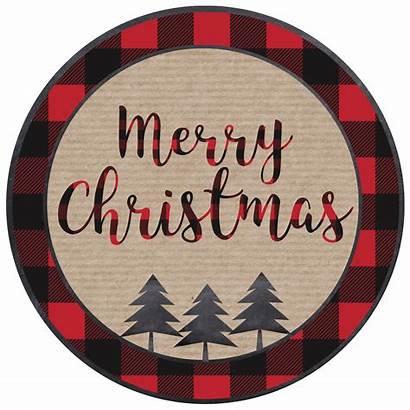 Christmas Printable Merry Tags Tag Gift Brown