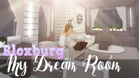 bloxburg  dream bedroom youtube
