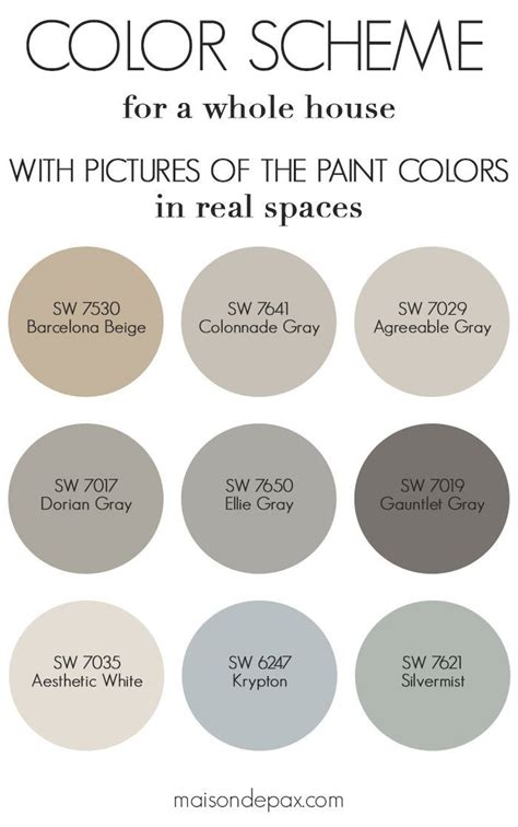 paint color home tour nature inspired neutrals neutral