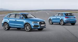 Nouveau Q3 Audi : nouvelle audi q3 restyl e vid o photos prix et infos auto moto ~ Medecine-chirurgie-esthetiques.com Avis de Voitures