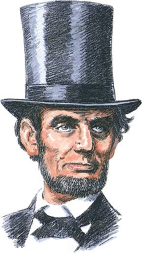 abraham lincoln with hat drawing bugs bunny activist