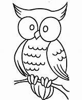 Coloring Owl Eye Pages Print sketch template