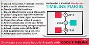 Cool Timeline Pro - WordPress Timeline Plugin by CoolPlugins | CodeCanyon