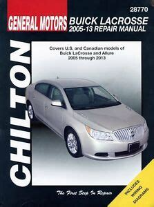 free online car repair manuals download 2007 buick buick lacrosse repair manual ebay