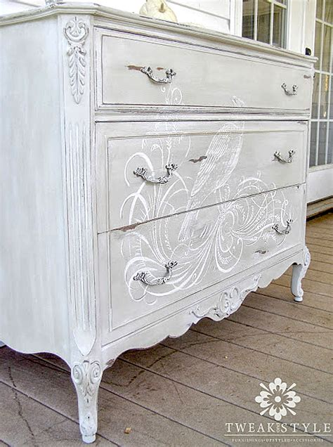 hand painted dresser reader featured project