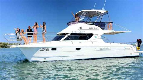 Yacht Hire Gold Coast by Lifes Gold Coast Charter Boat Luxury Charter Boats