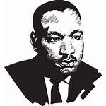 Clipart Mlk Stencil Luther Martin King Jr