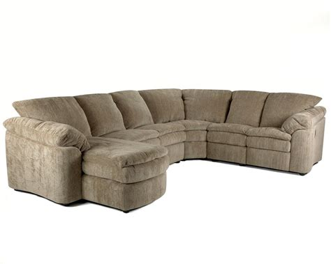 Loveseat And Chaise Sectional by Klaussner Legacy Right Arm Reclining Loveseat And Left Arm