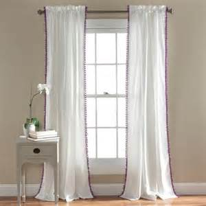 pom pom window curtains walmart com
