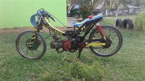 Foto Motor Drak Terkeren by Foto Modifikasi Motor Drag Revo Terkeren Dan Terbaru