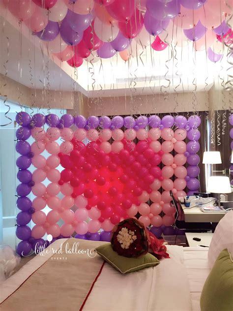 wedding balloon decoration singapore  red balloon
